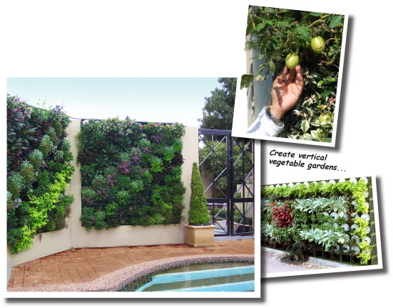 With The Atlantis Vertical Garden Range You Can Provide Environmental And  Aesthetic Benefits By Implementing Nature As A Heat And Air Purifier.